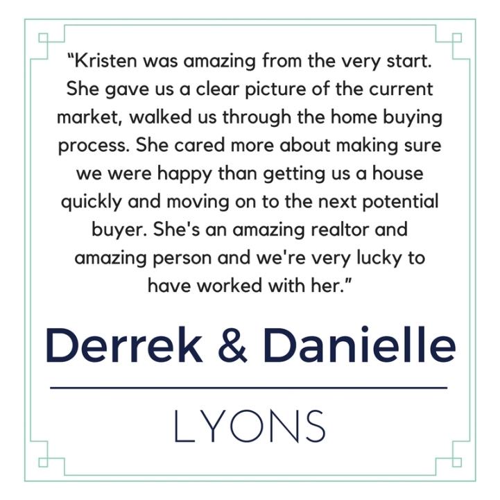 Derrek & Danielle Lyons
